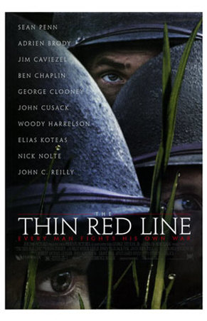 Image result for the thin red line movie poster