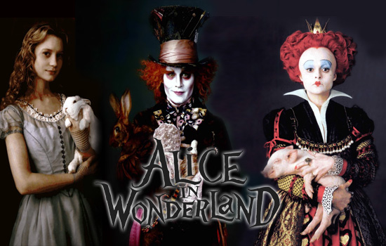 characters from alice in wonderland. Alice in Wonderland stays