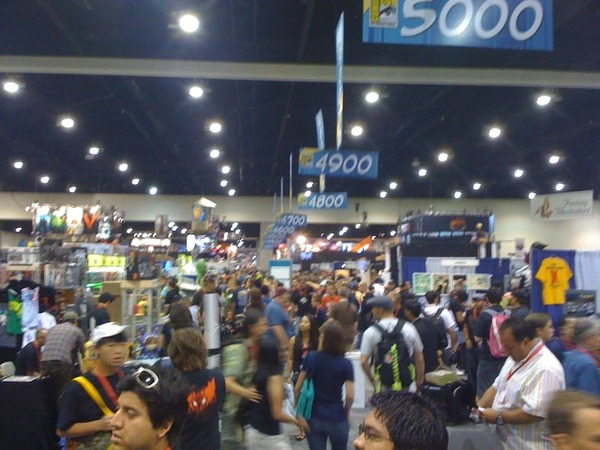 Comic Con Crowds