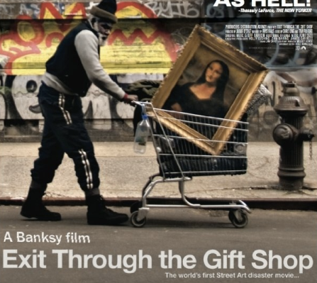 exit through the gift shop a documentary about the making of a documentary that was never made مشاهدة الفيديو eric clapton documentary gets  at the end says no elephants were harmed during the making of this.