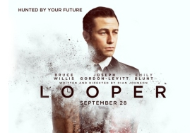 Looper poster, movies