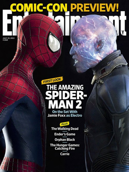 EW's first look at 'Electro' from The Amazing Spider-man 2!