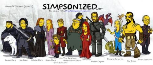 Game of Thrones: Simponized
