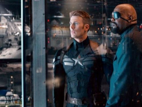 Two new photos from Captain America: The Winter Soldier