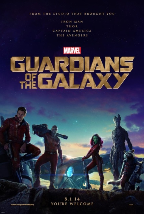 Guardians of the Galaxy Poster and Trailer